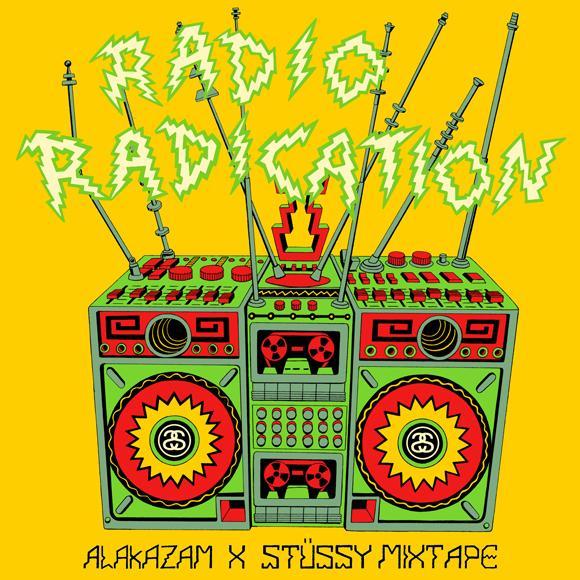Stussy x Alakazam! Radio Radication Mixtape | SLAMXHYPE