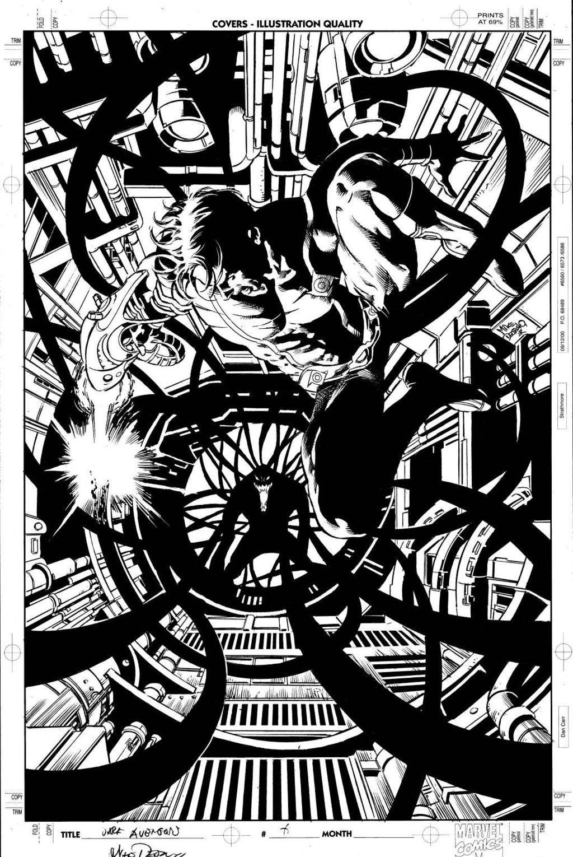 Comic Book Artist: Mike Deodato Jr. | Abduzeedo | Graphic Design Inspiration and Photoshop Tutorials