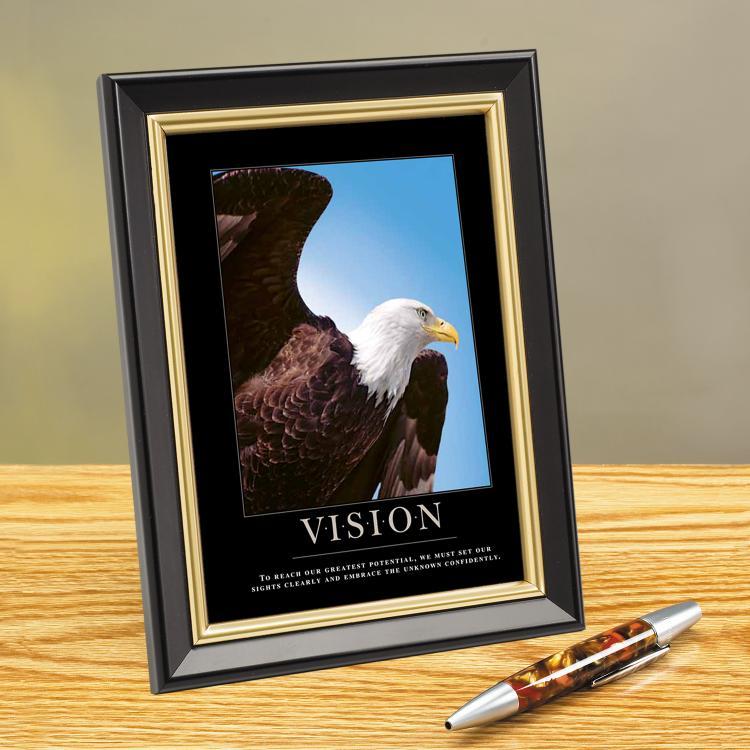 VISION EAGLE FRAMED DESKTOP PRINT image by Successories - Photobucket