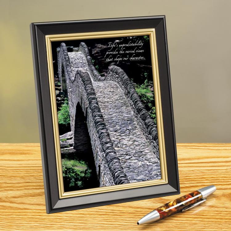 COBBLED PATHWAY FRAMED DESKTOP PRINT image by Successories - Photobucket