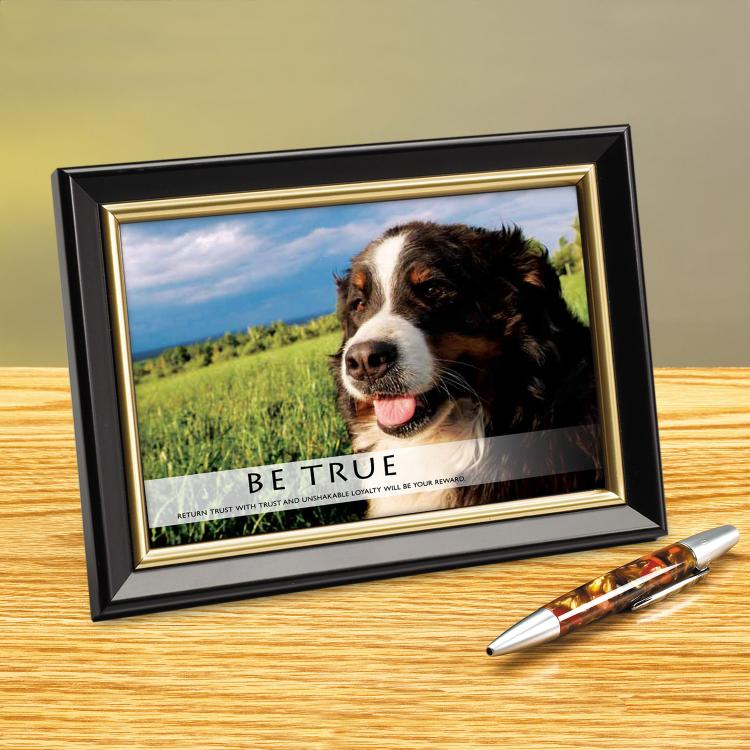 BE TRUE FRAMED DESKTOP PRINT image by Successories - Photobucket