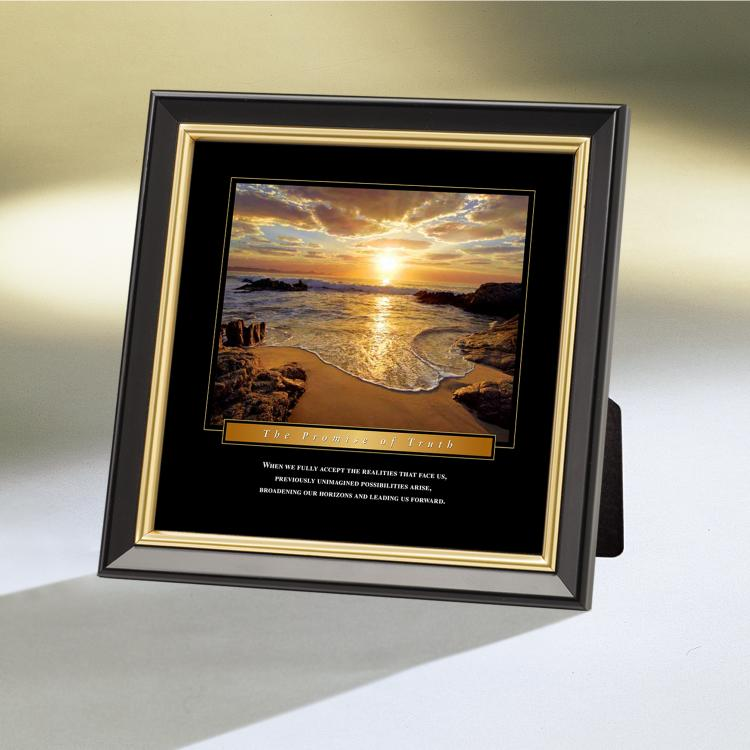 THE PROMISE OF TRUTH FRAMED DESKTOP PRINT image by Successories - Photobucket