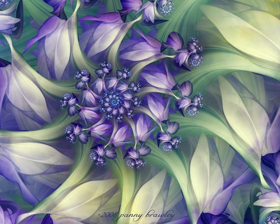 30 Mesmerizing Examples of Fractal Art Designs | Modny73