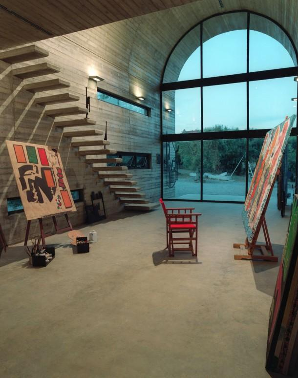 Greek artist's Art Warehouse