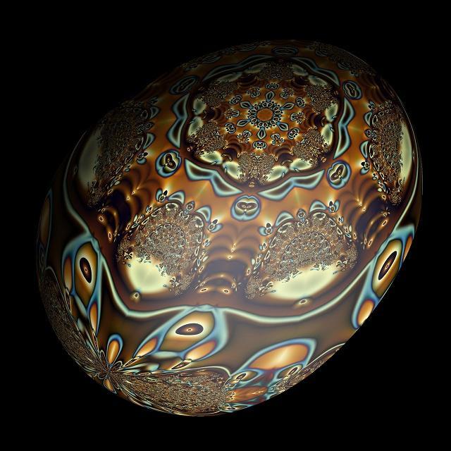 Fractal Art - Egg 1