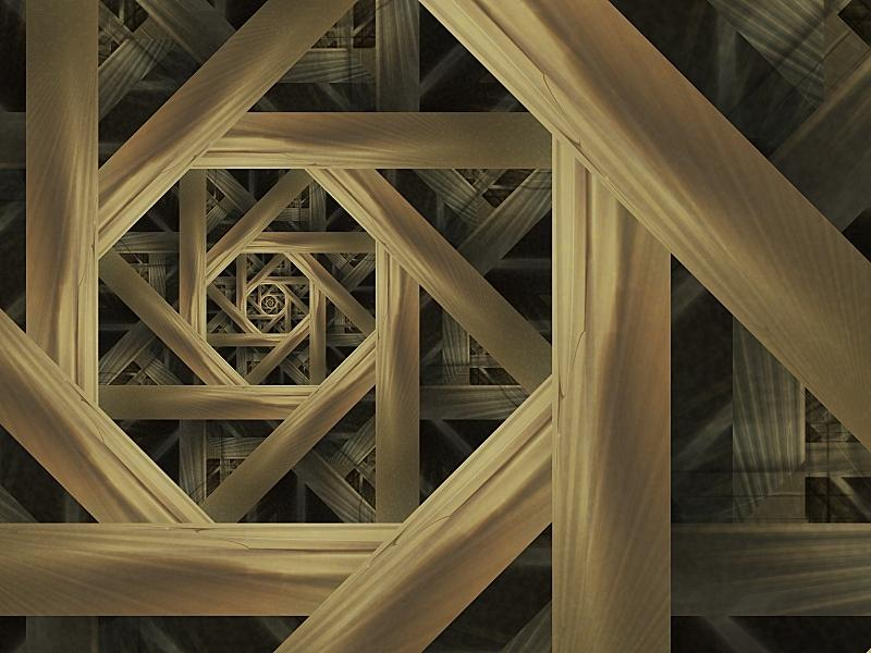 Fractal Art - The Mad Carpenter
