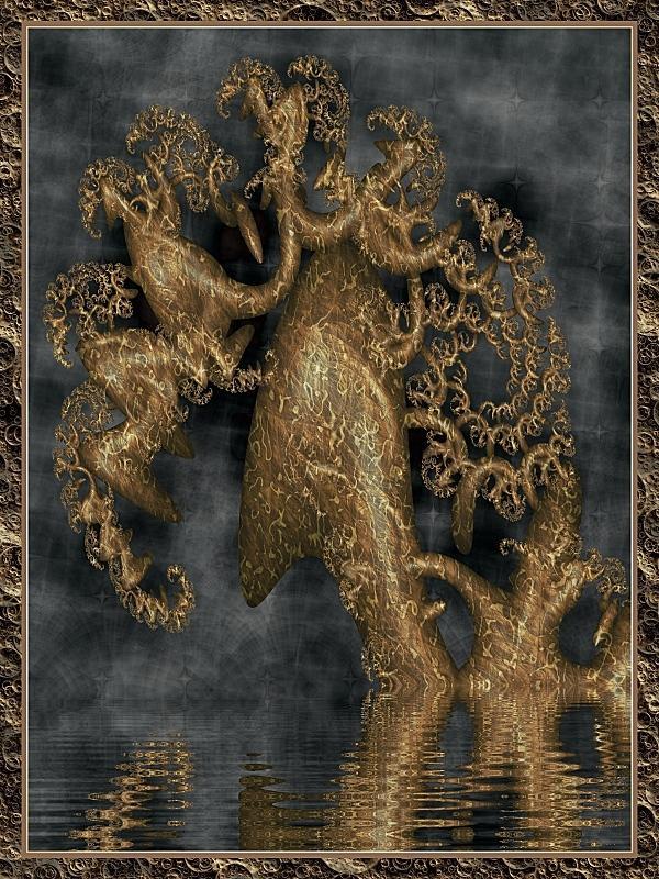 Fractal Art - Cthulhu