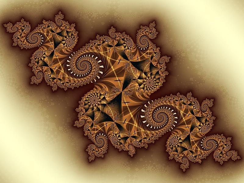 Fractal Art - Caramel