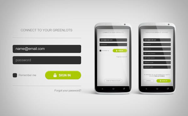 Greenlots Brand Identity and User Interface