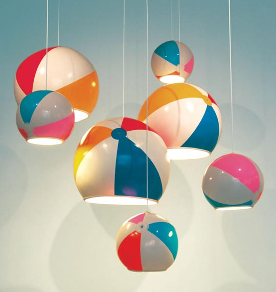Hot or Not: TOBYhouse Beach Ball Lamp Shade | Apartment Therapy Los Angeles