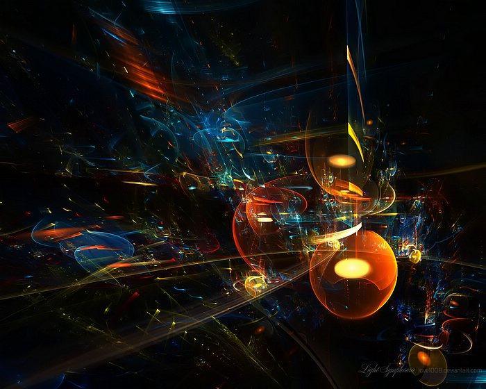 Light Symphonia - Artistic Fractal Art Wallpapers 28 - Wallcoo.net