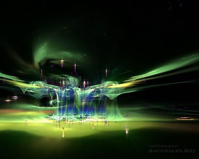 Fractal Shaman's Journey - Beautiful Abstrac Fractal Art Wallpapers 50 - Wallcoo.net