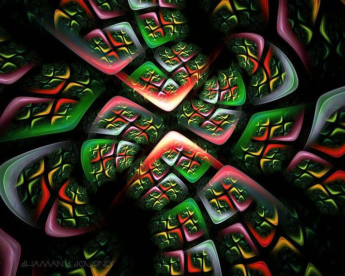 The WIndows - Abstrac Fractal Art Wallpapers 51 - Wallcoo.net