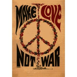 Make Love, Not War - The 60's Photo (666690) - Fanpop - Polyvore