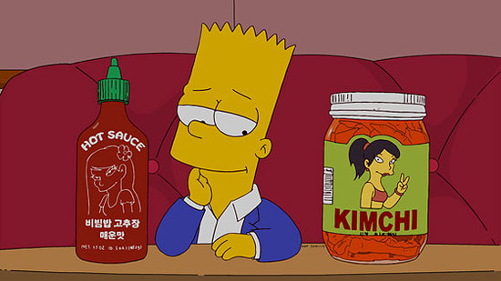 The Simpsons Takes on Food Blogging, Molecular Gastronomy and Sriracha in Next Episode - Orange County Restaurants and Dining - Stick a Fork In It