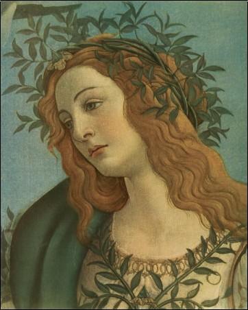 Minerva (detail) - Sandro Botticelli - Posters, Affiches d'Art
