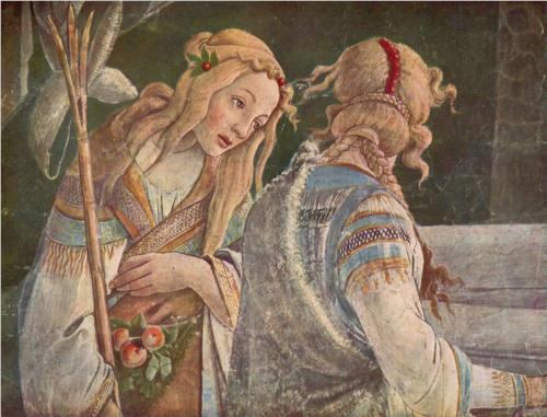 The Youth Moses (detail) - Sandro Botticelli - WikiPaintings.org