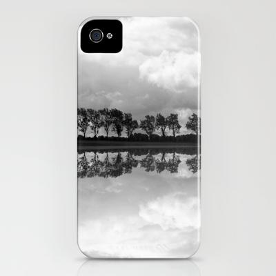 Mirrored Trees iPhone Case by Ally Coxon   Society6