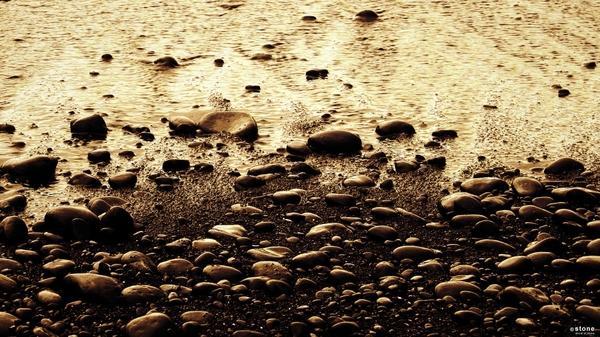 water,nature water nature sun beach black rock deviantart textures sepia pebbles evening 1920x1080 wallpaper – DeviantART Wallpapers – Free Desktop Wallpapers