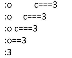 "tedinmostwanted: :O omg so that what "":3"" means....   Luan Legacy"
