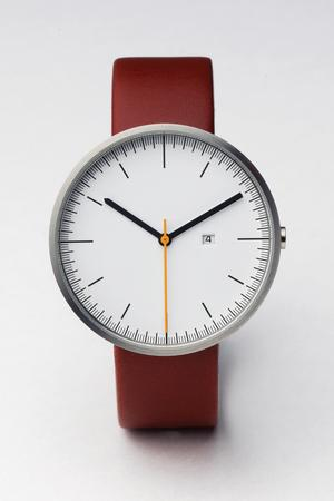 200 Series (Brushed / Cherry Red Leather) | Uniform Wares