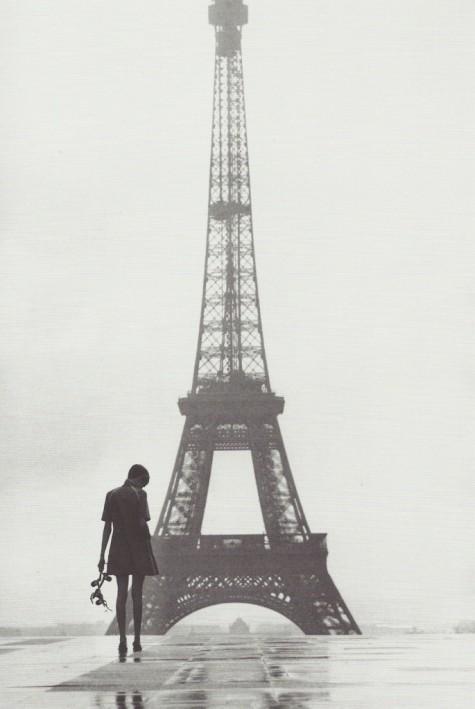 Piccsy :: Twiggy au Trocadéro, 1967