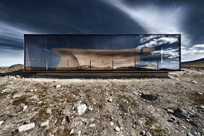 Norwegian Wild Reindeer Centre Pavilion by SNØHETTA on thisispaper.com » Design You Trust – Design and Beyond!