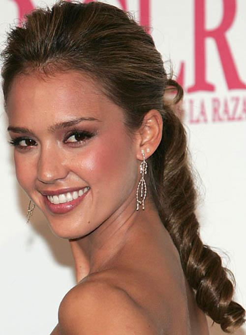 side ponytail wedding hairstyles, Hairsrtyles 2012, Yourhairstyles.Net