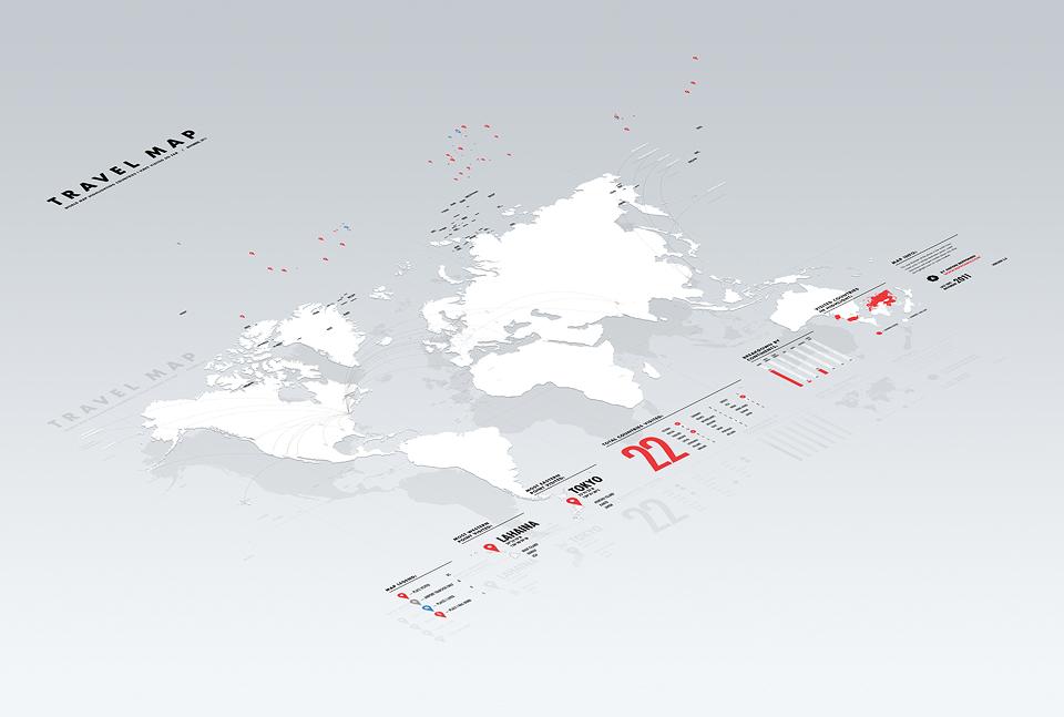 repponen: Travel Map