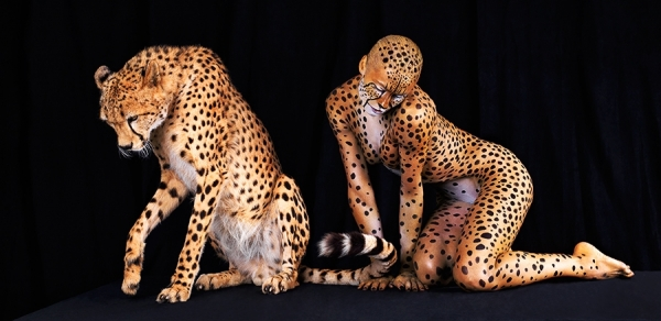 Lennette Newell - Ani Human Cheetah 347 - Picture Of The Day - ONE EYELAND | 2012-08-11 |