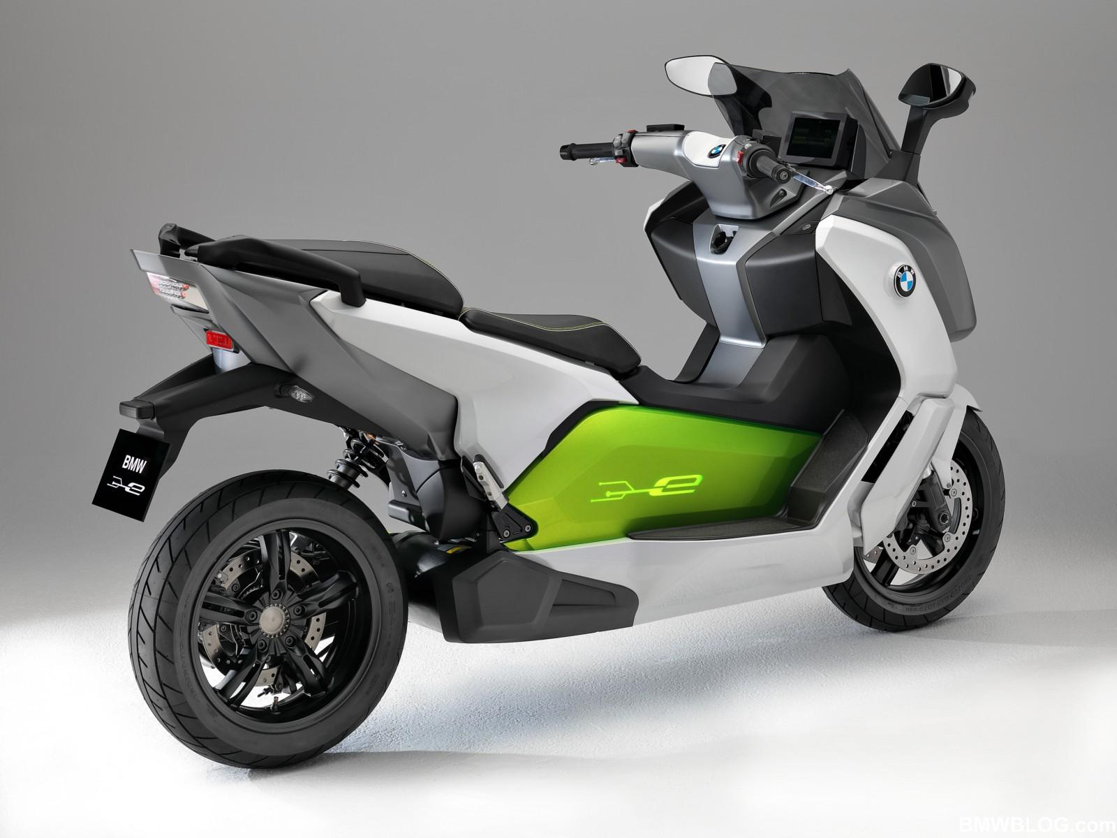 The new BMW C evolution e-scooter [VIDEO] | Electric Vehicle News