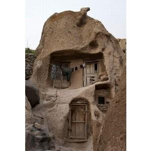 700 years old troglodyte stone house village in IRAN - 19 Pi... - Polyvore