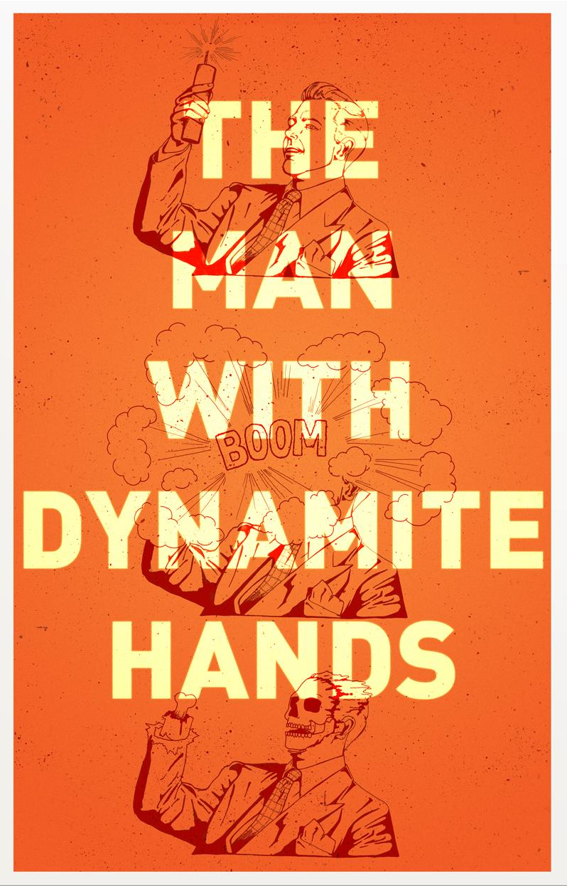 The Man With Dynamite Hands on Packaging Design Served