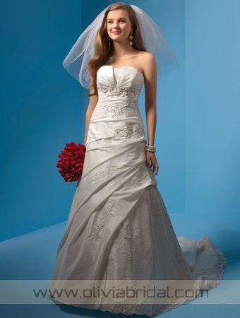OliviaBridal Design Alfred Angelo 2082 Price, Alfred Angelo Wedding Dresses Cheap For Sale