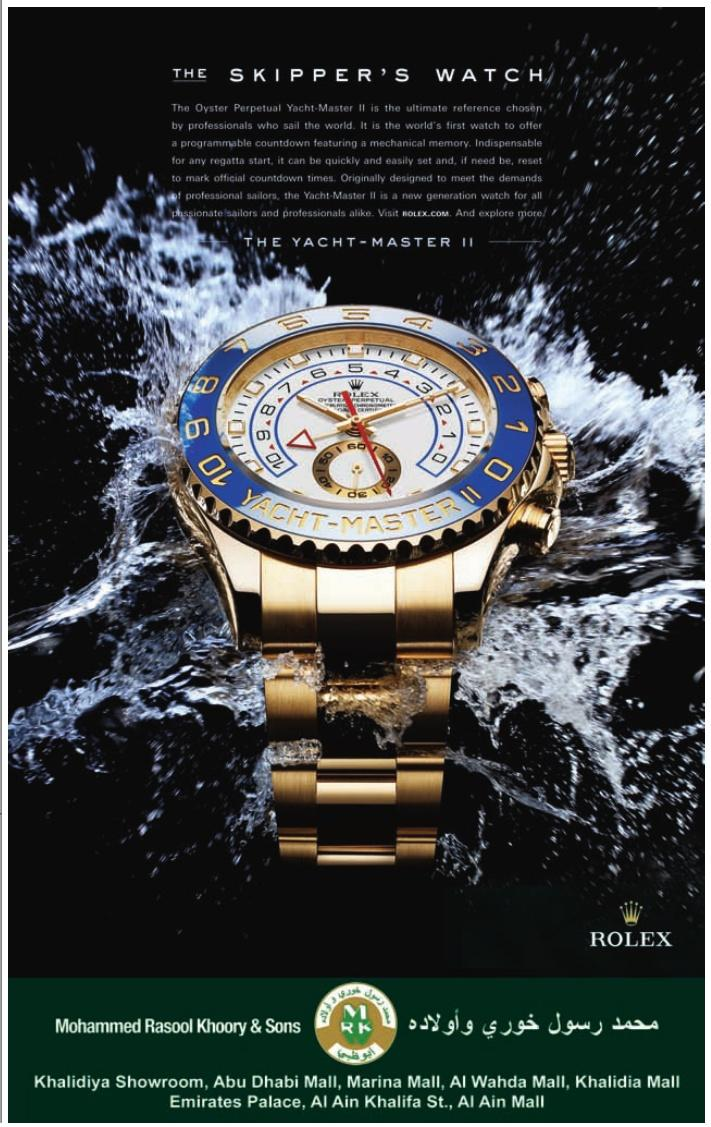 Muhammad Rasool Khoory And Sons Rolex The Skipper's Watch In Dubai - Advertisement in Dubai City