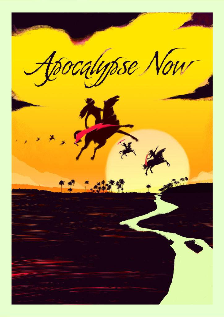 APOCALYPSE NOW (VARIANT YELLOW) - Rocco Malatesta Posters & Prints