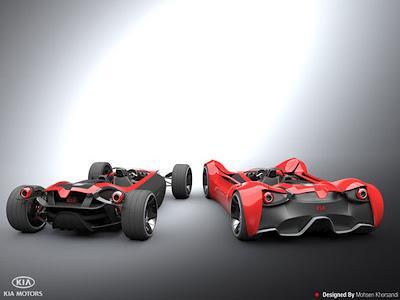 Shift KIA 2012 Concept Car by Mohsen Khorsandi - Concept And Design Cars