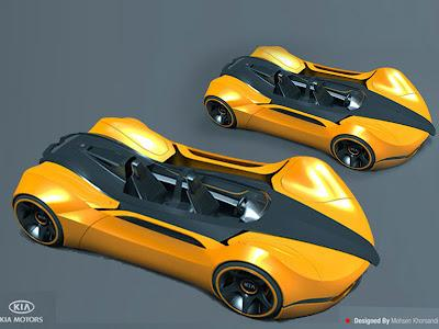 Shift KIA 2012 Concept Car by Mohsen Khorsandi - Concept And Design Cars