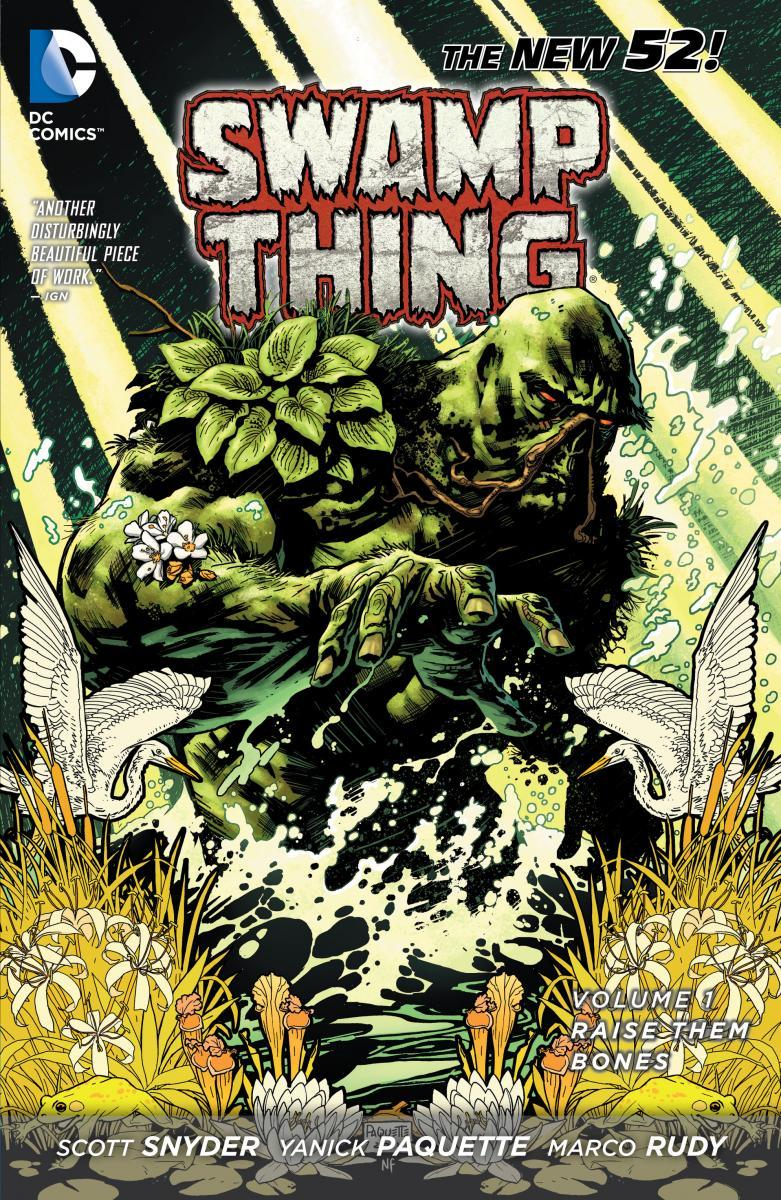 Paperback Spotlight – SWAMP THING VOL. 1: RAISE THEM BONES | DC Comics