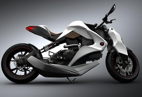 2012 Izh Hybrid Motorcycle concept packs 3D multifunction display [Video] - SlashGear