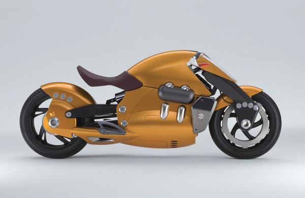 Suzuki Biplane | Future Motorcycles