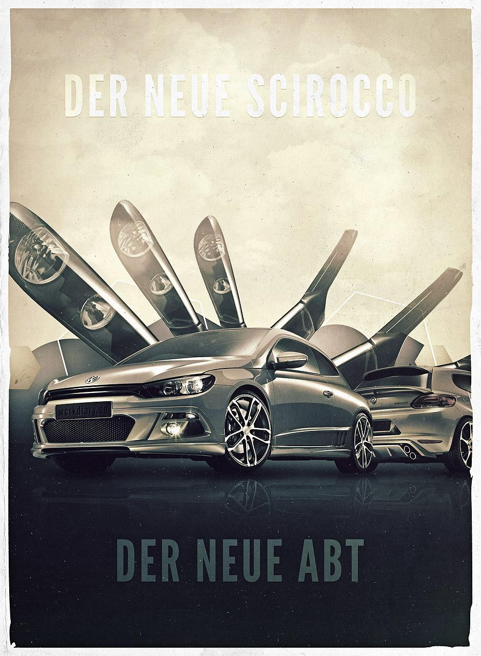 From Germany With Love: Gorgeous Posters By Michael Schmid | inspirationfeed.com