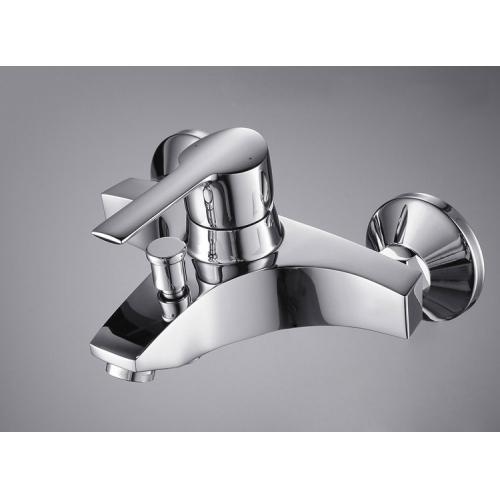 Single Handle Chrome Wall-mount Bathtub Faucet – FaucetSuperDeal.com