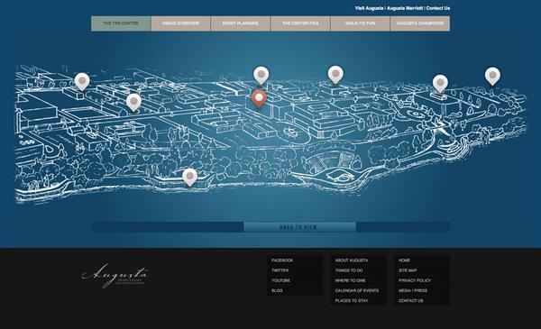 Augusta TEE center webpage