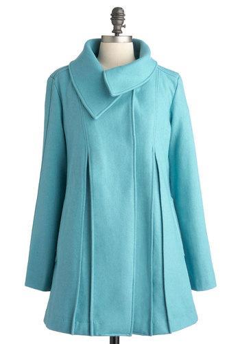 Sky Capers Coat | Mod Retro Vintage Coats | ModCloth.com
