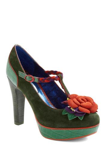 Poetic License Cultivating Creativity Heel | Mod Retro Vintage Heels | ModCloth.com