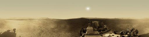 Curiosity rover: Martian solar day 2