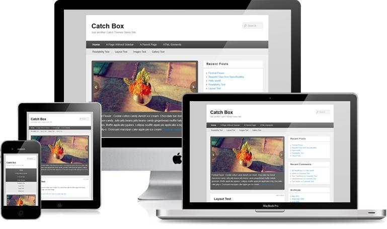 Catch Box By Catch Themes | Clean and Responsive, HTML5, CSS3 Design