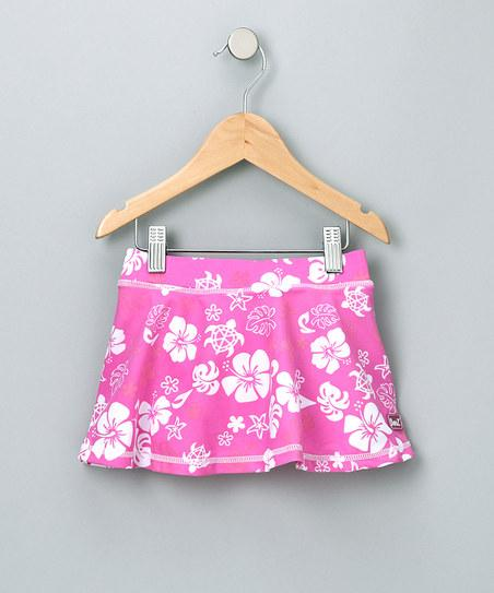 Pink & White Skirt - Girls | Daily deals for moms, babies and kids