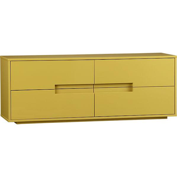 latitude grellow low dresser in storage | CB2